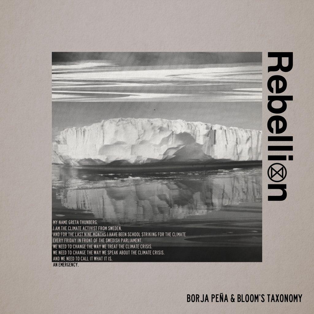 """rebellion 12"""" record single cover design"""